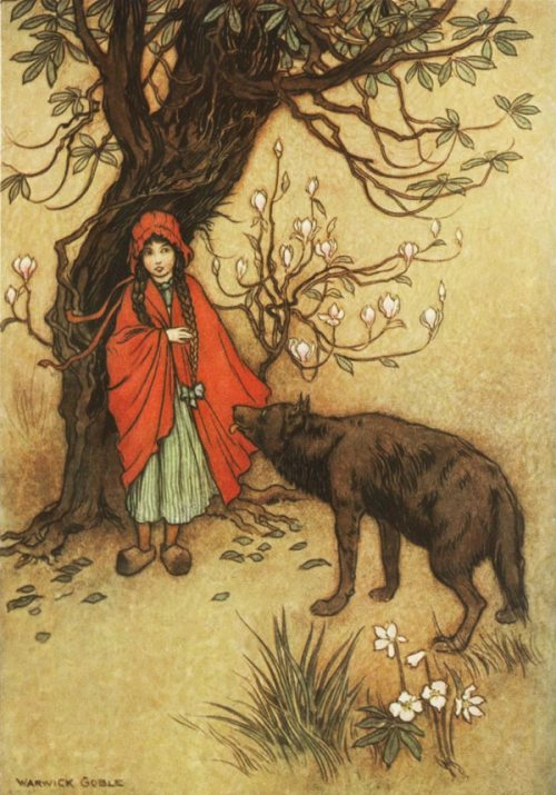 Red Riding Hood by Warwick Goble