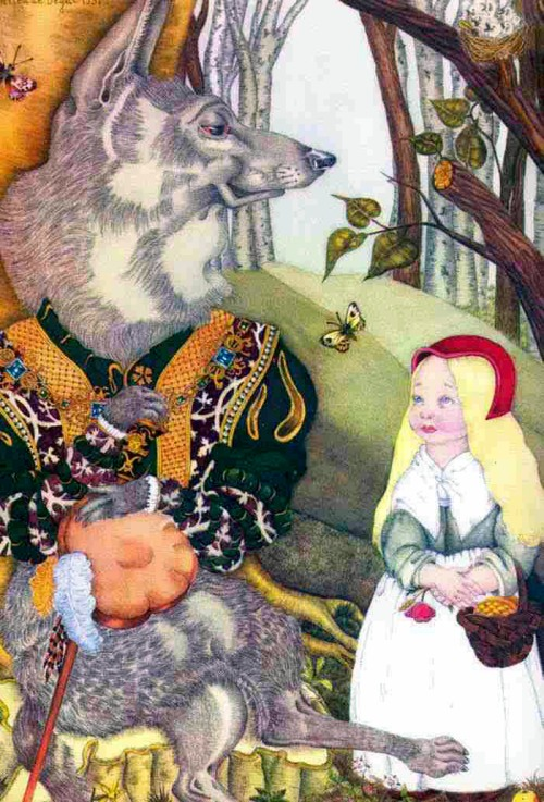 Little Red Riding Hood by Adrienne Ségur