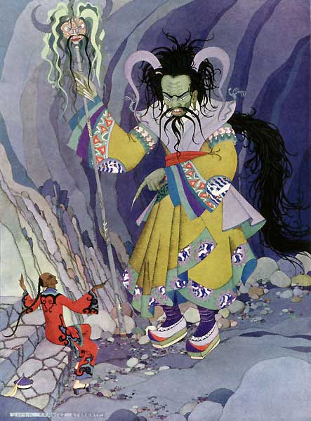 Aladdin and the Genie of the Ring - Virginia Frances Sterrett