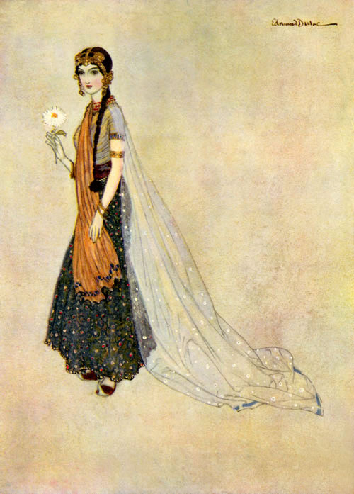 Asenath - from Edmund Dulac's Picture Book for the Red Cross